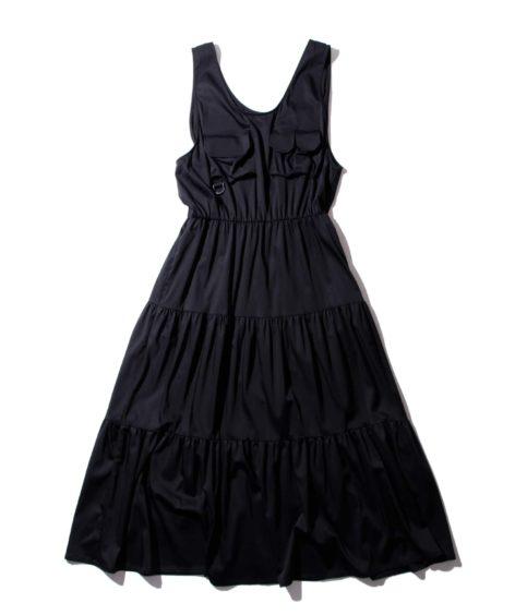 F/CE.® CUPRA TIERED DRESS / エフシーイー キュプラ ティアード ドレス