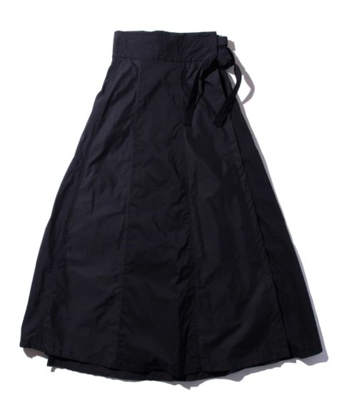 F/CE.® SWITCHED WRAP LONG SKIRT / エフシーイー ラップ ロングスカート