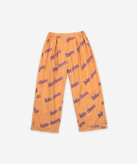 Bobo Choses Bobo Retro All Over Baggy Trousers  / ボボショーズ