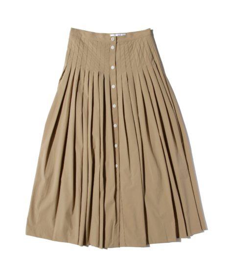 F/CE.® FRONT OPEN LONG SKIRT / エフシーイー フロント オープン ロングスカート