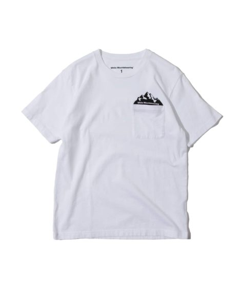 White Mountaineering POCKET PRINTED T-SHIRT / ホワイトマウンテン ポケットプリントTシャツ