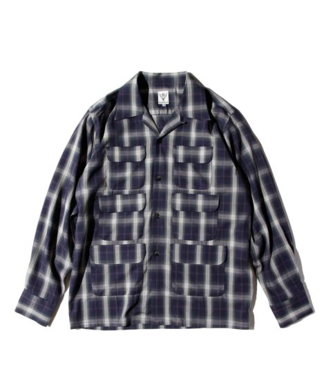 South2 West8 6 POCKET CLASSIC SHIRT OMBRE PLAID / サウスツー ウェストエイト ポケット クラシック シャツ オンブレ プレイド