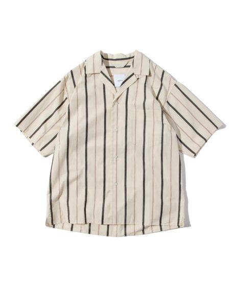 LOOMER Cotton Silk Stripe Shirts / ルーマー コットンシルク ストライプシャツ