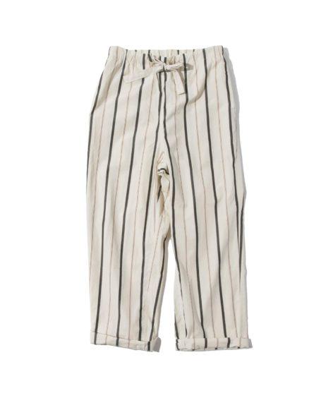 LOOMER Cotton Silk Stripe Pants / ルーマー コットン シルク ストライプ パンツ