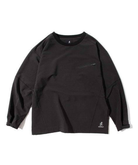 GRAMICCI STORMFLEECE LOGAN TEE / グラミチ ストームフリースローガンTシャツ
