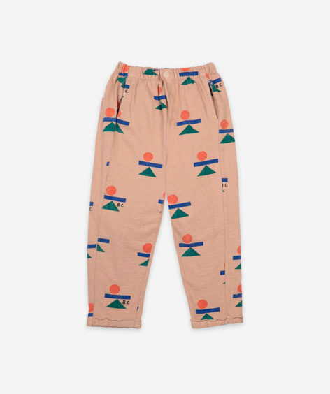 Bobo Choses  BALANCE ALL OVER FLEECE PANTS / ボボショーズ