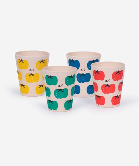 Bobo Choses TOMATOES PACK OF BAMBOO GLASSES / ボボショーズ