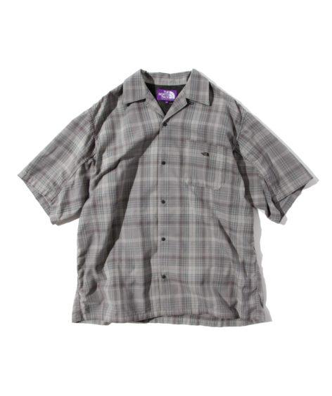 THE NORTH FACE PURPLE LABEL Madras Field H/S Shirt / ザ ノース フェイス マドラス フィールド シャツ