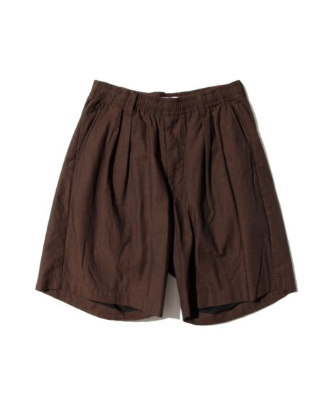 nuterm Two Tuck Easy Shorts / ニューターム