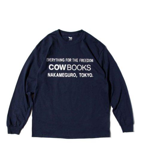 COWBOOKS BOOK VENDOR LONG SLEEVE T / カウブックス ブック ベンダー ロングスリーブT
