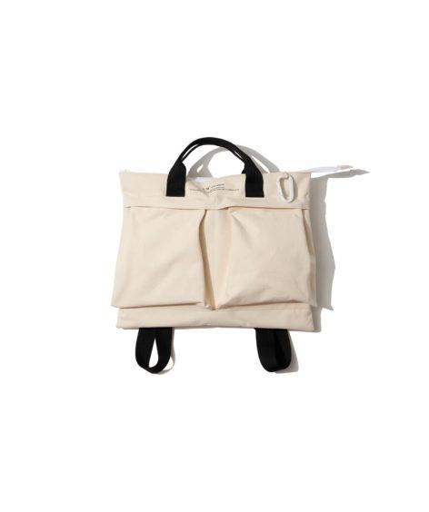 F/CE. W.R CANVAS HELMET BAG / エフシーイー 撥水 キャンバス ヘルメット バッグ
