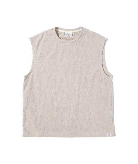 THING FABRICS TF NO SLEEVE T-SHIRT / シングファブリックス TF ノースリーブ Tシャツ SALE