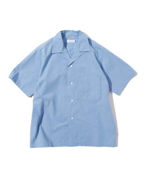 nanamica Open Collar Wind H/S Shirt / ナナミカ オープンカラー H/S シャツ SALE