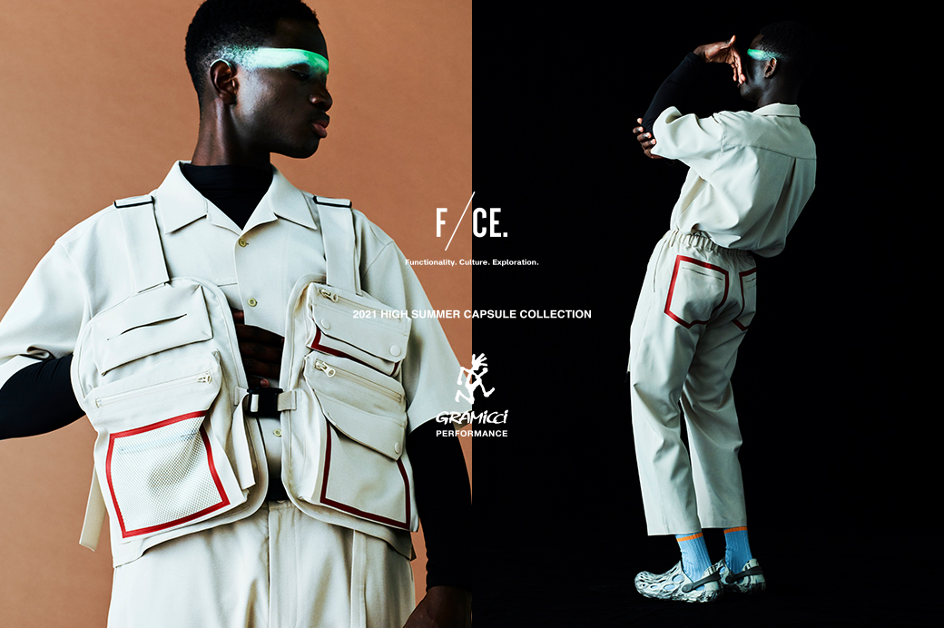 F/CE.×GRAMiCCi PERFORMANCE  2021 HIGH SUMMER CAPSULE COLLECTION