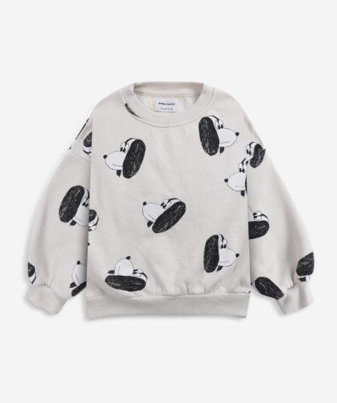Bobo Choses Doggie All Over sweatshirt / ボボショーズ ドギー スウェット