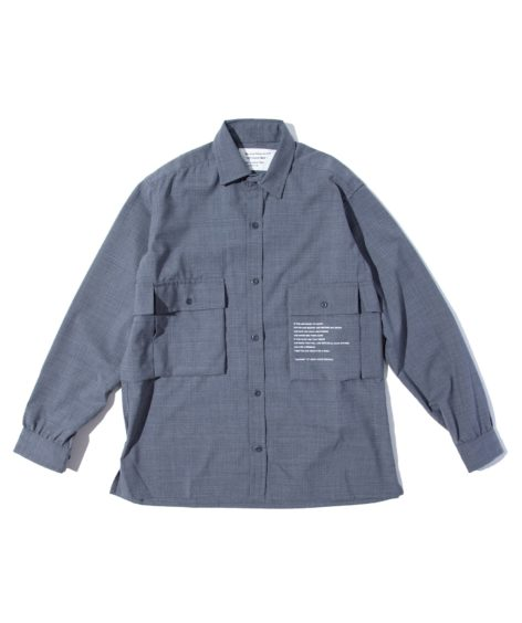 MOUNTAIN RESEARCH HDT GAME SHIRT / マウンテンリサーチ HDT ゲームシャツ