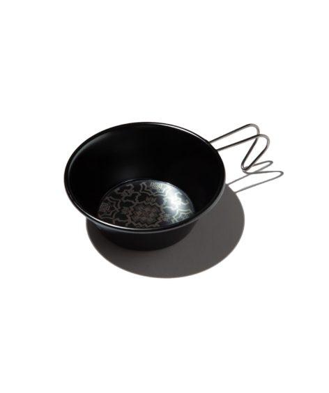 OLD MOUNTAIN × SomAbito ダブルネームブラックシェラカップ 柄ロゴ / オールドマウンテン