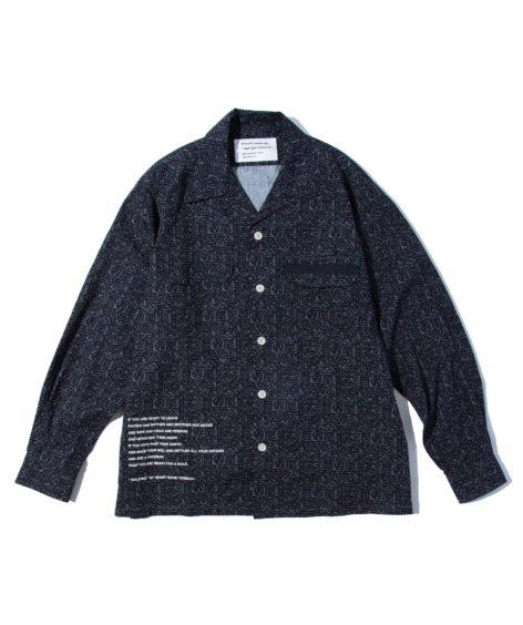 MOUNTAIN RESEARCH Batik Open Collar L/S / マウンテンリサーチ バティック オープンカラー ロングスリーブシャツ