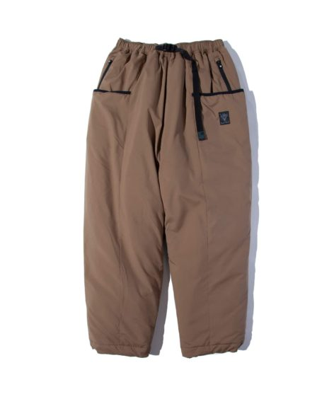 South2 West8 Insulator Belted Pant – Poly Peach Skin / サウスツーウェストエイト インシュレーターベルテッドパンツ – ポリピーチスキン