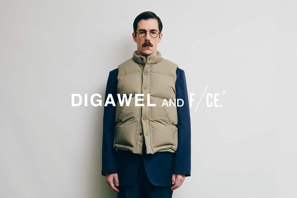 【オンラインストア×直営店舗】DIGAWEL × F/CE.