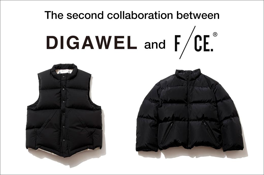 【オンラインストア】DIGAWEL × F/CE. コラボアイテム予約受付中