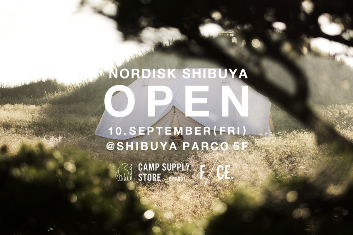 【NORDISKより】 渋谷パルコ店オープンのお知らせ