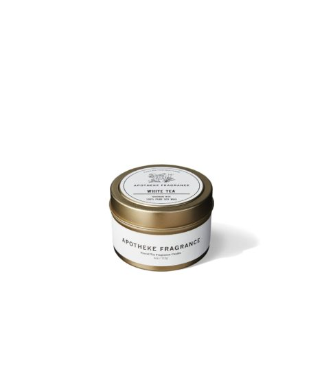 APOTHEKE FRAGRANCE TIN CANDLE WHITE TEA / アポテーケフレグランス キャンドル ホワイトティー